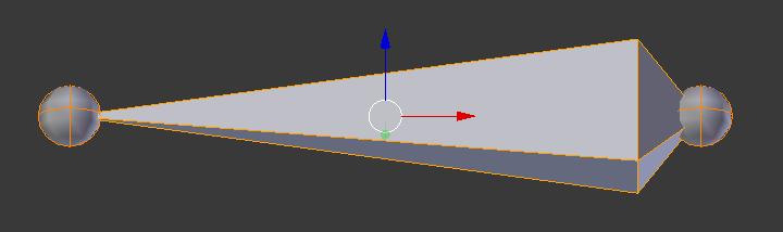 【Blender】キューブにそってボーンを入れる